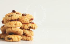 Cookies-Havermut Kismis