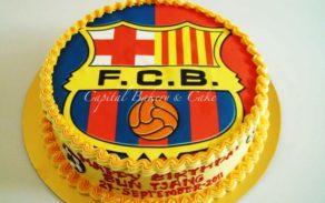 FC Barcelona-Edible Photo Cakes
