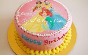 Princess-Edible Photo Cakes