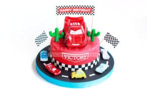 Cars 1-Kids Cake