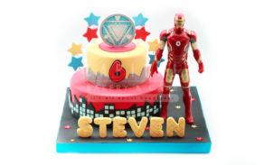 Iron Man-Kids Cake