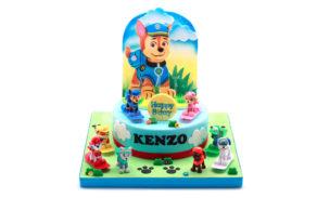 Paw Paw Patrol 1-Kids Cake
