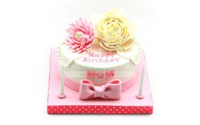 Custom Cake-Flowers 1