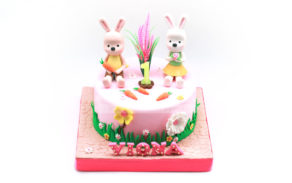 Custom Cake-Rabbit 1
