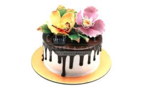 Flowers 2-Custom Cake