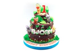 Jungle-Custom Cake