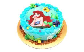 Mermaid Ariel-Custom Cake