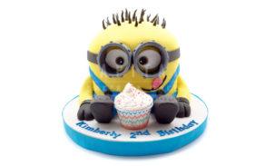 Minions-Custom Cake