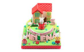 Rabbit Sylvanian-Custom Cake