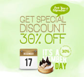 30% OFF on Member Day