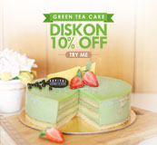 Try Our New Green Tea Cake
